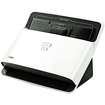 the document scanner with top feed area for a variety of document sizes.